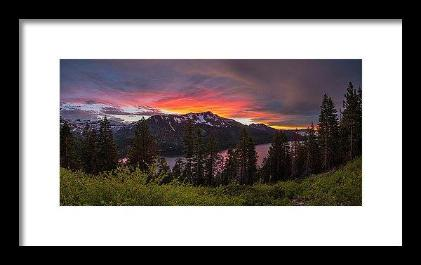 Blinding Light by Brad Scott - Framed Print