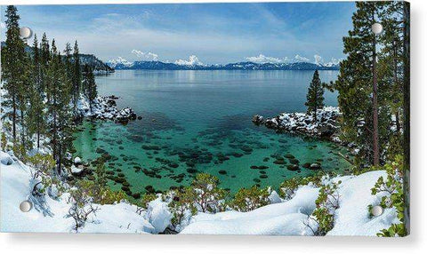 Blue Bird Secret Cove By Brad Scott - Acrylic Print