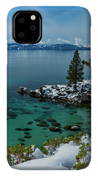 Blue Bird Secret Cove By Brad Scott - Phone Case