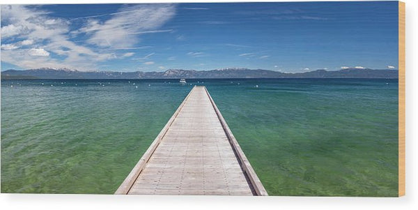 Boaters Paradise By Brad Scott - Wood Print