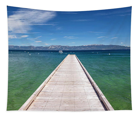 Boaters Paradise By Brad Scott - Tapestry
