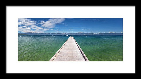 Boaters Paradise By Brad Scott - Framed Print