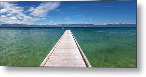 Boaters Paradise By Brad Scott - Metal Print