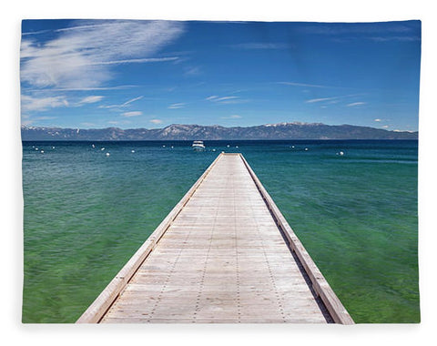 Boaters Paradise By Brad Scott - Blanket