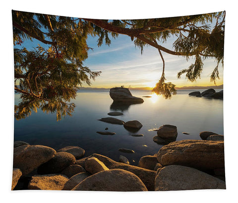 Bonsai Rock Sunburst - Tapestry