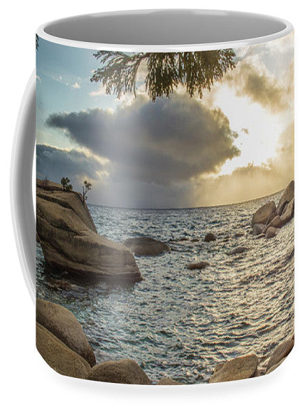Bonsai Rock Through The Trees By Brad Scott - Mug