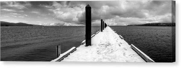 "Camp Richardson Pier - Canvas Print-20.000"" x 6.250""-Lake Tahoe Prints"