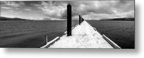 Camp Richardson Pier - Metal Print