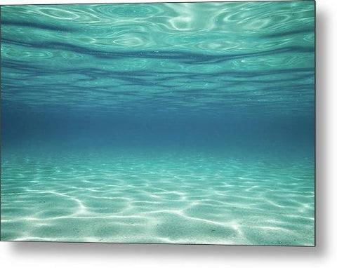 Classic Blue By Dylan Silver - Metal Print