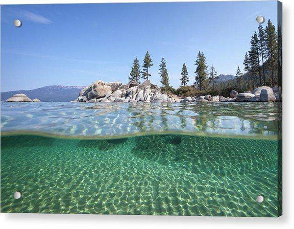 Classic Split By Dylan Silver - Acrylic Print