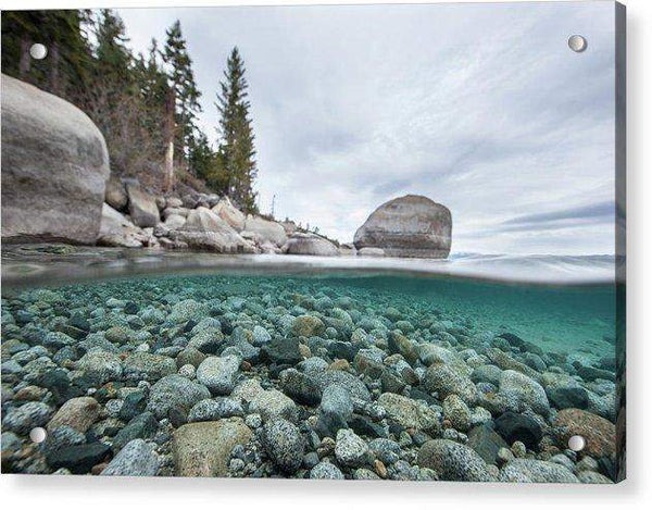 Clean Granite By Dylan Silver - Acrylic Print