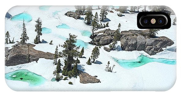 Desolation Blue Ice - Phone Case-Phone Case-IPhone X Case-Lake Tahoe Prints
