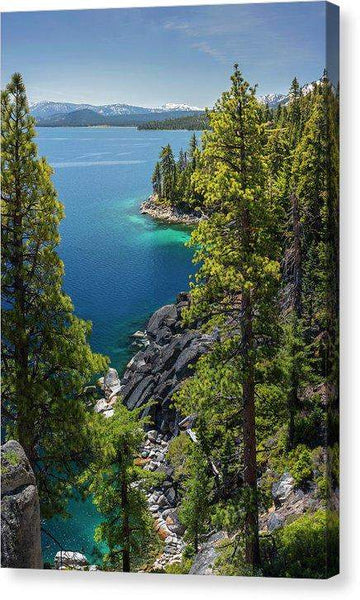 "Dl Bliss Lookout By Brad Scott - Canvas Print-10.625"" x 16.000""-Lake Tahoe Prints"