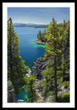 Dl Bliss Lookout By Brad Scott - Framed Print
