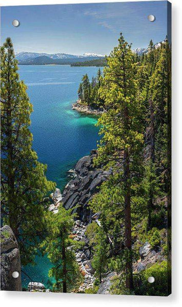Dl Bliss Lookout By Brad Scott - Acrylic Print