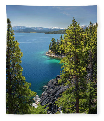 Dl Bliss Lookout By Brad Scott - Blanket