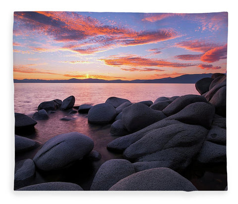 East Shore Bliss By Brad Scott - Blanket