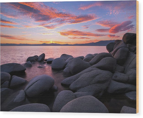 East Shore Bliss By Brad Scott - Wood Print