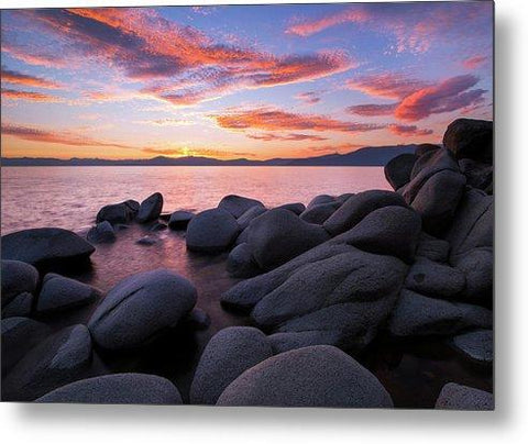 East Shore Bliss By Brad Scott - Metal Print-Metal Print-Lake Tahoe Prints