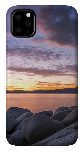 East Shore Cove Panorama By Brad Scott - Phone Case