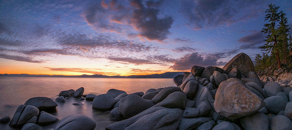 East Shore Cove Panorama By Brad Scott - Art Print