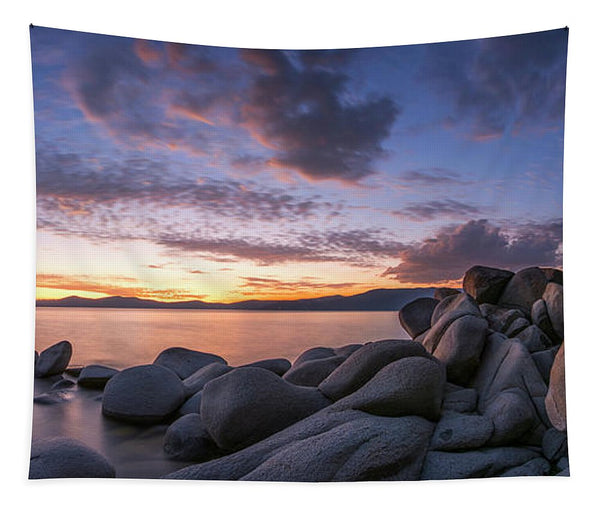 East Shore Cove Panorama By Brad Scott - Tapestry