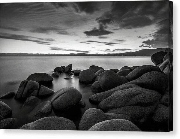"East Shore Serenity - Lake Tahoe - Canvas Print-10.000"" x 6.625""-Lake Tahoe Prints"