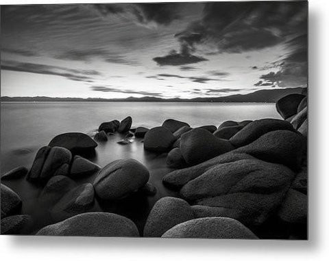 East Shore Serenity - Lake Tahoe - Metal Print