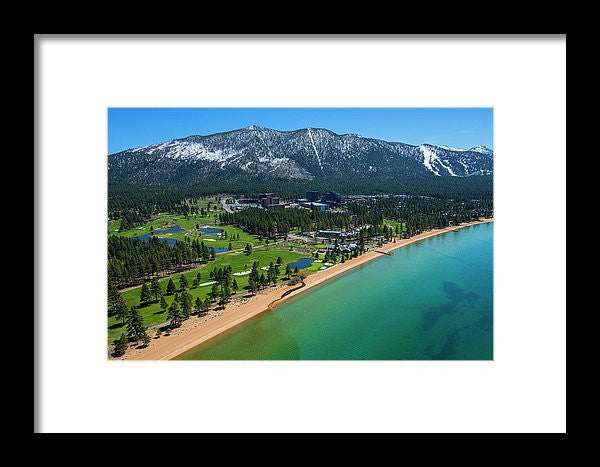 Edgewood By Air - Framed Print