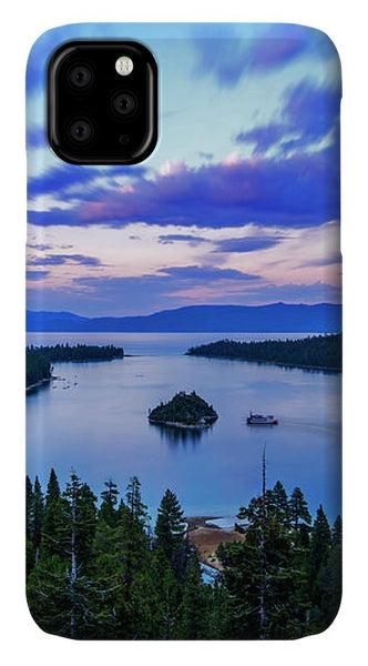 Emerald Bay And Ms Dixie At Sunset By Brad Scott - Phone Case
