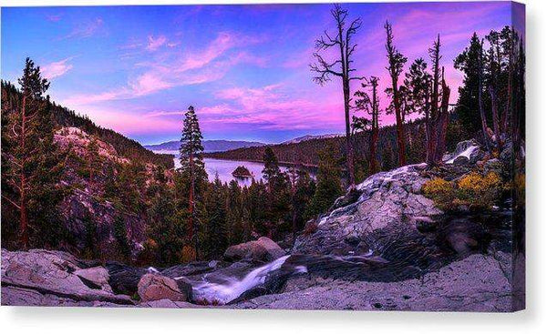 "Emerald Bay Dreaming By Brad Scott - Canvas Print-12.000"" x 6.250""-Lake Tahoe Prints"