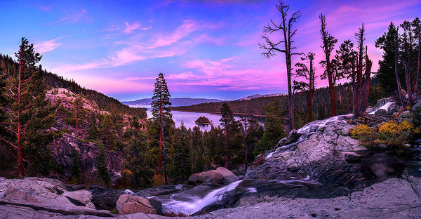 Emerald Bay Dreaming By Brad Scott - Art Print