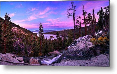 Emerald Bay Dreaming By Brad Scott - Metal Print-Lake Tahoe Prints