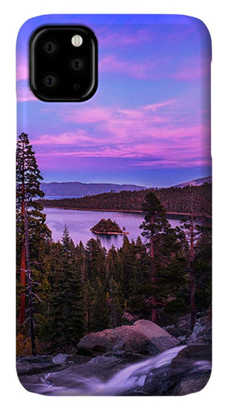 Emerald Bay Dreaming By Brad Scott - Phone Case