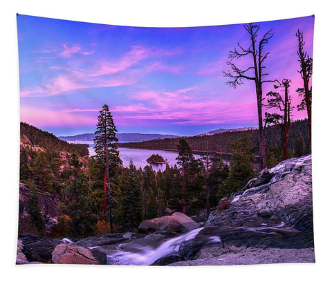 Emerald Bay Dreaming By Brad Scott - Tapestry
