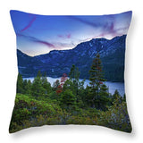 Emerald Bay Dusk By Brad Scott - Throw Pillow
