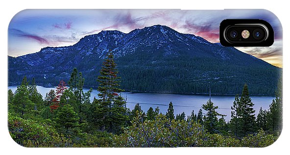 Emerald Bay Dusk By Brad Scott - Phone Case