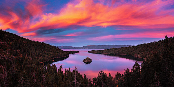 Emerald Bay Explode by Brad Scott - Art Print