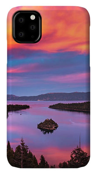 Emerald Bay Explode - Phone Case