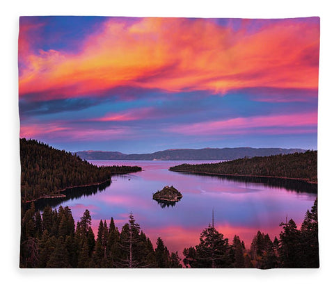 Emerald Bay Explode - Blanket