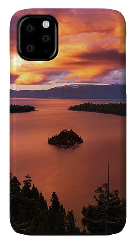 Emerald Bay Fire - Phone Case