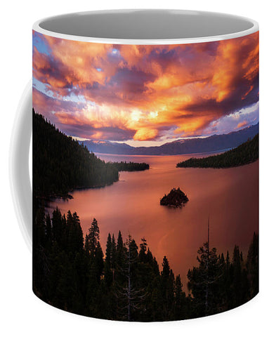 Emerald Bay Fire - Mug