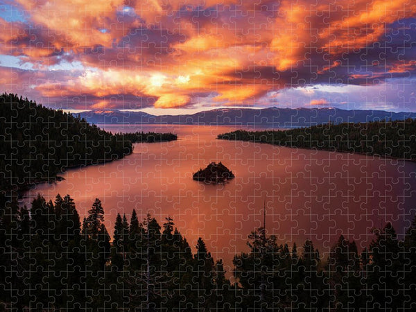 Emerald Bay Fire - Puzzle