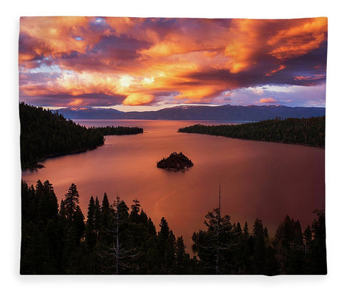 Emerald Bay Fire - Blanket
