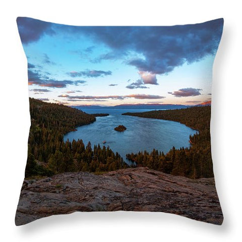 Emerald Bay Granite By Brad Scott - Throw Pillow