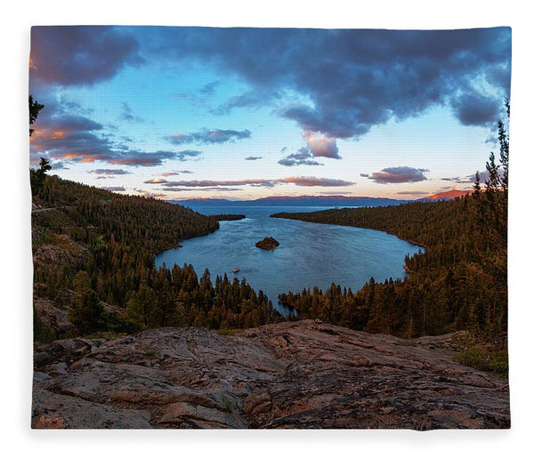 Emerald Bay Granite By Brad Scott - Blanket