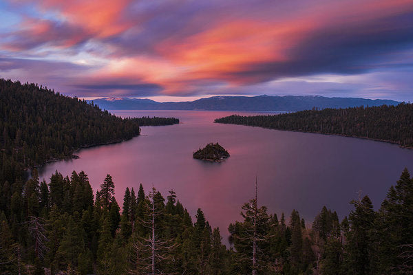 Emerald Bay Loves You By Brad Scott - Art Print