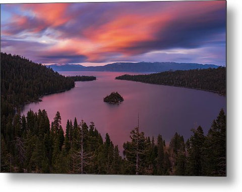 Emerald Bay Loves You By Brad Scott - Metal Print