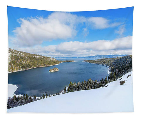 Emerald Bay Slopes - Tapestry