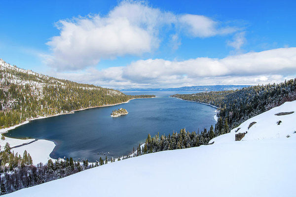 Emerald Bay Slopes - Art Print